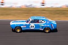 Klassieke Ford Capri-raceauto Stock Afbeeldingen