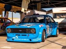 Klassieke Ford Escort-raceauto Royalty-vrije Stock Foto's