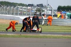 Klassieke Formule 3 raceauto Stock Afbeeldingen