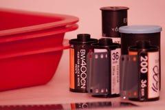 Klassieke fotografie die - ontwikkelen zich Stock Foto