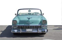 Klassieke geïsoleerde auto Royalty-vrije Stock Foto's