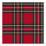 Klassieke geruit Schots wollen stofstof voor kleding vector illustratie