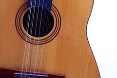Klassieke gitaar Royalty-vrije Stock Afbeelding