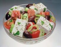 Klassieke Griekse salade. Royalty-vrije Stock Foto