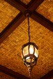 Klassieke hangende lamp Royalty-vrije Stock Afbeelding