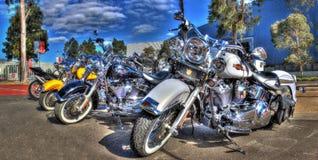 Klassieke Harley Davidson-motorfiets Royalty-vrije Stock Foto's