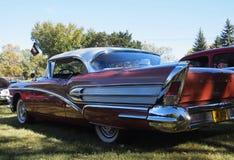 Klassieke Herstelde Speciale Uitgave Buick met Vinnen Stock Afbeelding