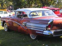 Klassieke Herstelde Speciale Uitgave Buick met Vinnen Stock Fotografie