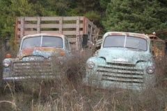 Klassieke het werkvrachtwagens Stock Fotografie
