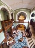 Klassieke hotelzitkamer Stock Foto