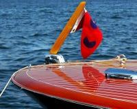 Klassieke Houten Boot 3 van de Snelheid Stock Afbeelding