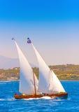 Klassieke houten varende boot Royalty-vrije Stock Foto