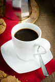 Klassieke Italiaanse Moka-Koffie Royalty-vrije Stock Foto's