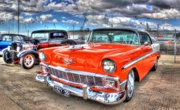 Klassieke jaren '50 Chevy Royalty-vrije Stock Foto's