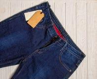Klassieke jeans stock fotografie