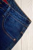 Klassieke jeans royalty-vrije stock fotografie