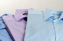 Klassieke katoenen overhemden Stock Foto's