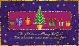 Klassieke Kerstboom Stock Foto's
