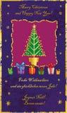 Klassieke Kerstboom Stock Foto