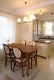 Klassieke keuken.   Stock Afbeelding