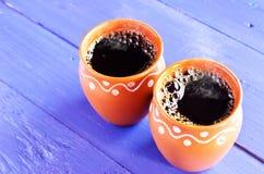 Klassieke koffie Stock Afbeeldingen