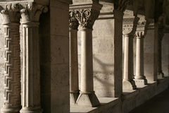 Klassieke kolommen Royalty-vrije Stock Foto