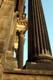 klassieke kolommen royalty-vrije stock afbeelding