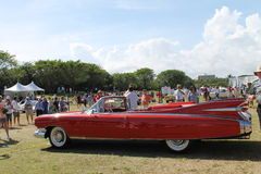 Klassieke luxe Amerikaanse auto Royalty-vrije Stock Foto