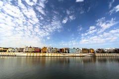Klassieke mening van Sevilla, Andalusia, Spanje Royalty-vrije Stock Fotografie