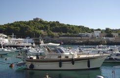 Klassieke motorboot Royalty-vrije Stock Afbeeldingen