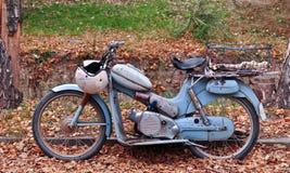 Klassieke motorfiets stock foto
