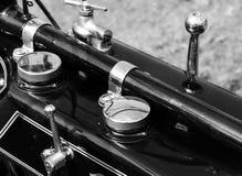 Klassieke motorfietsinstrumenten Royalty-vrije Stock Foto