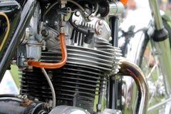 Klassieke motorfietsmotor Royalty-vrije Stock Fotografie