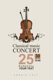 Klassieke muziek royalty-vrije illustratie