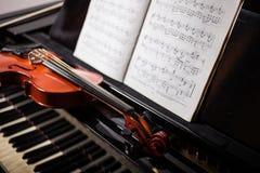 Klassieke muziekscène Royalty-vrije Stock Fotografie