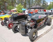 Klassieke Open tweepersoonsauto's Stock Foto