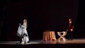 Klassieke Opera Rigoletto stock footage