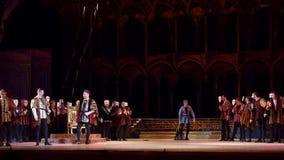 Klassieke Opera Rigoletto stock video