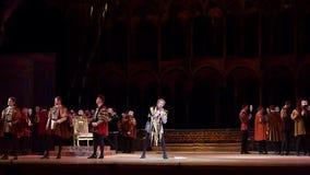 Klassieke Opera Rigoletto stock videobeelden