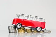 Klassieke Oude die VW-Kampeerauto door Corgi wordt gemaakt Royalty-vrije Stock Foto's
