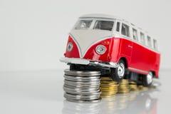 Klassieke Oude die VW-Kampeerauto door Corgi wordt gemaakt Royalty-vrije Stock Foto