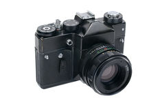 Klassieke oude fotocamera Royalty-vrije Stock Foto