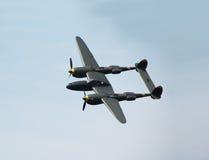 Klassieke p-38 vliegtuigen Royalty-vrije Stock Afbeelding