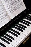 Klassieke piano Stock Afbeeldingen