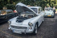 Klassieke Poolse auto Warschau Royalty-vrije Stock Fotografie