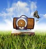 Klassieke radio royalty-vrije stock foto
