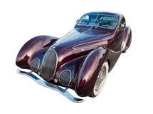 Klassieke retro auto Stock Afbeelding
