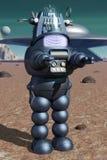Klassieke robot vector illustratie