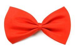 Klassieke rode bowtie Stock Afbeelding