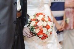 Klassieke Rose Bouquet Royalty-vrije Stock Afbeeldingen
